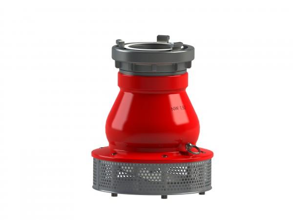 Saugkorb DN 150 - 150 mit Kupplungsgriff